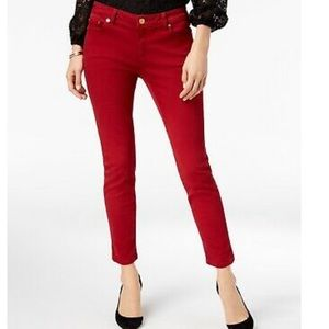 Red Michael Kors Pants